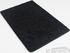 Blackest Black Indoor Area Rug Carpet 37 oz Bedrooms Living Room Dining Rooms
