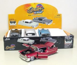 1958 Chevy Impala Diecast Model Car Tray 1 24 Scale