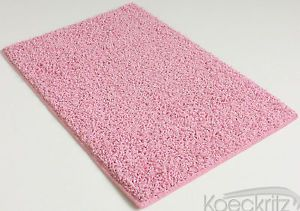 Fairy Princess Pink Indoor Area Rug Carpet 37 oz Bedroom Living Room Dining Room