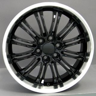22 Black Wheels Rims Fit Chevy Suburban Avalanche Yukon