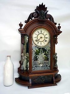 A Gorgeous Ansonia Triumph Gong Strike Mantle Clock in Superb Condition C1890