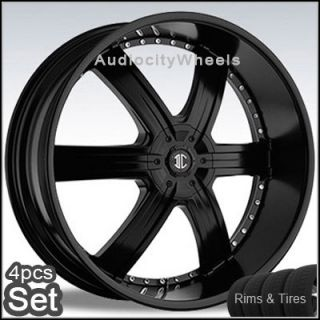 "26""inch Rims Tires Wheels Chevy F150 Cadillac Tahoe"