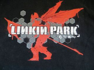 Linkin Park 2X T Shirt Red and Black Anvil