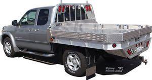 Flatbed for Pickups All Size Flat Beds Aluminum Made for Ford Dodge GMC Chevy