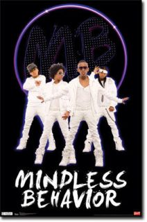 Mindless Behavior Lights Boy Band Music Poster