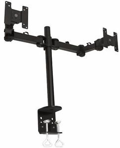 Dual LCD Screen Double Monitor Desk Arm Mount New Vesa 75 or Vesa 100 Support