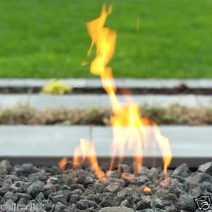 "Lava Rock 1 4"" Pebble Rock Fireplace Fire Pit Outdoor Use"