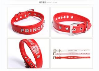 Dog Collar for Medium Large Dog Collars High Quality Rhinestone Princess 3 Color