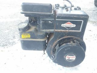 Briggs Stratton Engine 5 HP Small Gas Motor Go Kart Mini Bike Lawn Mower