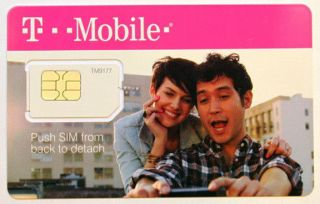 New T Mobile Standard Sim Card Unactivated 2G 3G 4G