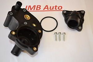 97 01 Ford Explorer Mountaineer 4 0L V6 Thermostat Housing Cooling Outlet Kit