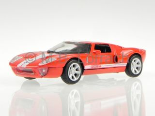 Ford GT Concept 2004 Red Diecast Model Car 73401 Motormax 1 43