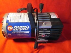 Campbell Hausfeld Portable Tankless Air Compressor 5 100PSI Pristine Condition