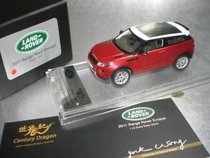 1 43 Century Dragon 2011 Land Rover Range Rover Evoque Red Resin