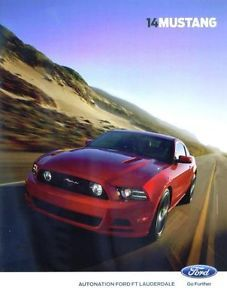 2014 Ford Mustang Dealer Brochure Shelby GT500 43 Pages RARE New Full Color