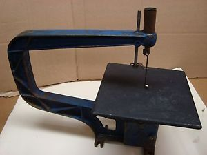 Vintage Champion Power Tools Belt Driven Jig Scroll Saw Benchtop Model