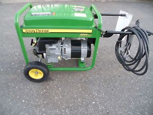 "Brand New ""John Deere"" 11HP 6200 Watts 9750 Watts Heavy Duty Portable Generator"