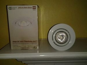 Commercial Electric 3 in White Recessed Lighting Kit K26 562 883