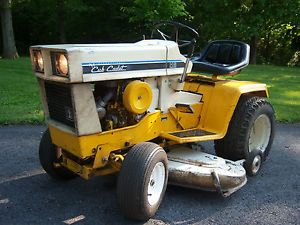 International Cub Cadet 149 Hydrostatic Riding Mower with Deck