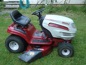 "MTD WHITE LT1650 HYDROSTATIC 42"" DECK OUTDOOR RIDING LAWN MOWER TRACTOR"