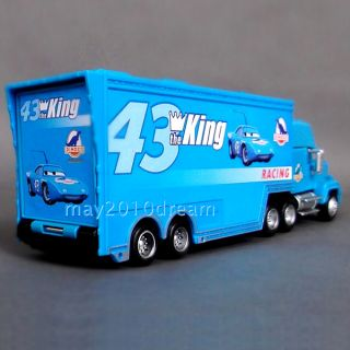 Disney Pixar Toy Cars 43 95 86 King Hauler Dinoco Chick Hicks HTB Mack Truck New