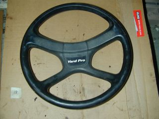 "Yard Pro 20HP 6 Speed 42"" Deck 42518 Riding Lawn Mower Steering Wheel"