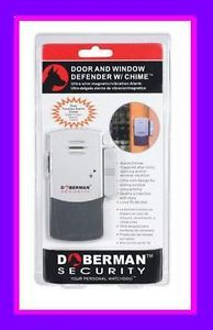 New Doberman Security Door Window Defender Alarm Chime Home Safety SE 0101C