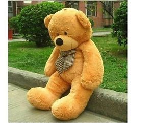 "Teddy Bear Toy Doll Xmas Gift 47""Giant Huge Cuddly Stuffed Animal Soft Plush"