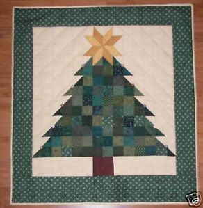 Christmas Tree Quilt Advent Calendar Pattern