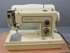 Kenmore Sewing Machine Model 158 13150 Vintage Portable Sewing Machine