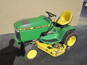 "John Deere GT262 17hp Kawasaki 48"" Mower Deck Riding Lawn Mower Garden Tractor"