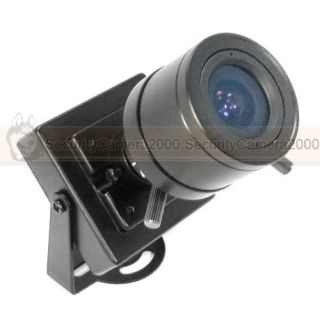 Mini 650TVL HD Effio E DSP Sony CCD Color Video Audio Camera w 3 5 8mm Lens