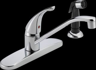 Delta Faucet P115LF Single Handle Kitchen Faucet