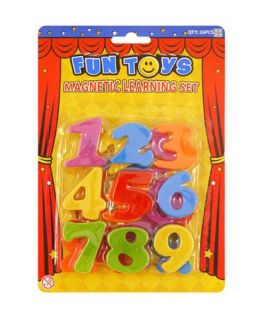 26pcs Magnetic Letters and Numbers Set Fridge Magnets Kids Learning Teaching Set