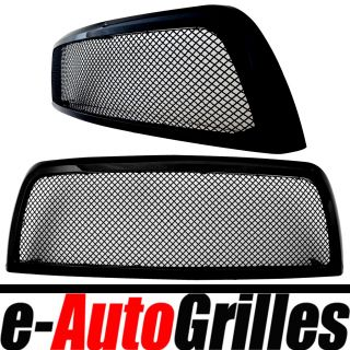 10 13 Dodge RAM 2500 3500 Black Stainless 4 0mm Mesh Outer Shell Billet Grille