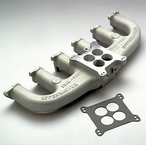 Offenhauser Dual Port Intake Manifold Ford Straight Six 240 Fits Stock Heads