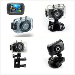 720P HD Mini Action Helmet Camera Waterproof Sport Car DV Bikecamcorder Recorder 815849014282