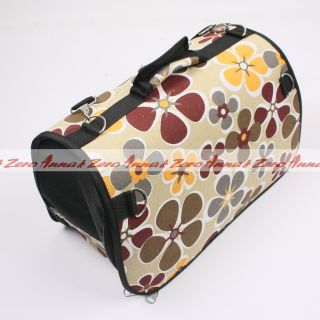 Cute Comfort Pet Cat Dog Tote Crate Carrier House Advanced Fold Portable Pet Bag