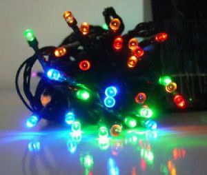 Solar Power Christmas Exterior Outdoor Garden LED Party String Lights Color New