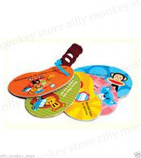 Paul Frank Julius Touch and Feel Stroller Cards Baby