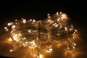 10M 100 LED Fairy String Lights Christmas Party Wedding Decoration Warm White