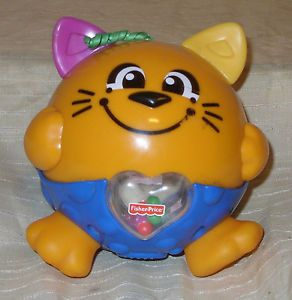 Fisher Price Cat That Vibrates Shakes A Musical Developmental Baby Toy