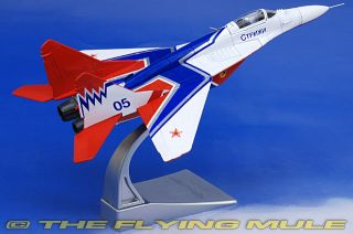 CG AA37504 Corgi MIG 29 Fulcrum Diecast Model Russian Air Force Strizhi