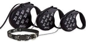 Flexi Cord Retractable Leash Matching Lupine Collars Harnesses for Small Dog