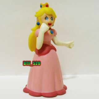"Action 4""3 4 Princess Peach C New Super Mario Brothers Action Figure"