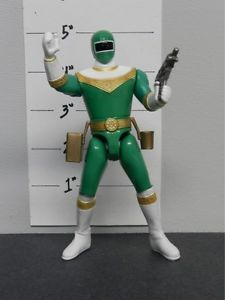 229 Bandai 96 Power Rangers Zeo Action Figure Action Feature Green Ranger