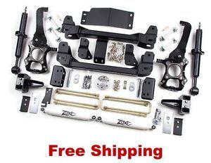 "09 12 Ford F150 4WD Zone Offroad 6"" Suspension Lift Kit PN F10"