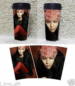 KPOP BIGBANG Water Cup G Dragon Water Glass Mug One of A Kind YG Eshop