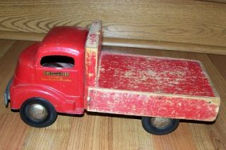RARE Smith Miller Coca Cola Toy Truck w Coke Crates