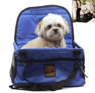 Blue Pet Lookout Dog Booster Car Seat w Free Gift